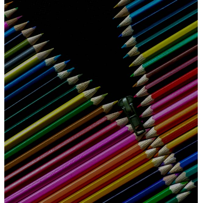 Pencil Zip by Sue Duffield
