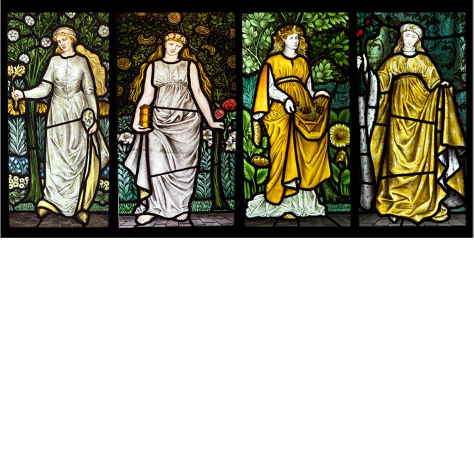 William Morris Four Seasons by Colin Brownett