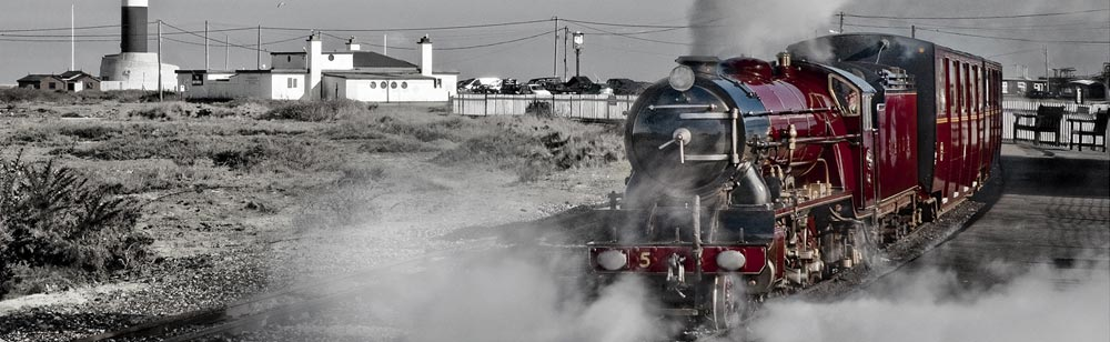 RHD Railway At Dungeness by Alan Gould
